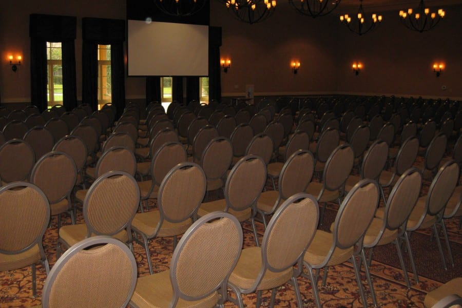 Meetings - Ballroom theatre seating